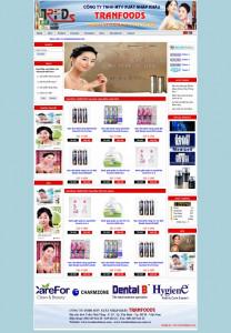 images mauwebsite webthuongmai tranfood