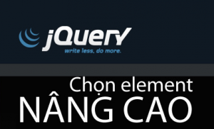 chon element jquery