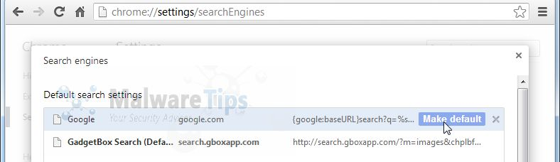 [Image: Gadgetbox Search Chrome]