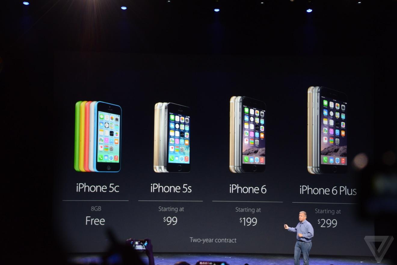 iPhone 6 sẽ có giá từ 199 USD, iPhone 6 Plus từ 299 USD