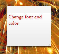 images custom html sticky