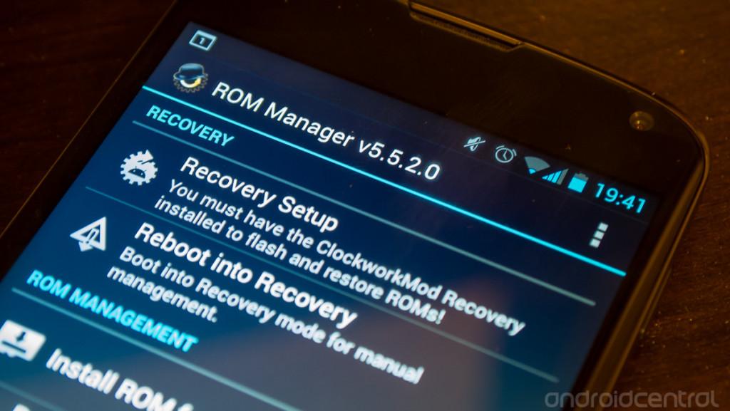 rom manager hero