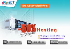 WCT giam gia 50 SSD Hosting