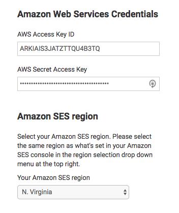 Amazon Web Services Credentials