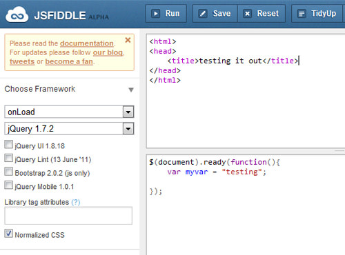 06 jsfiddle testing grounds jquery