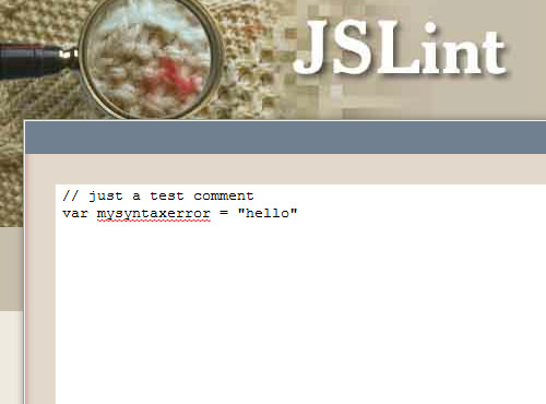 13 jslint code debug javascript