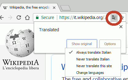 chrometranslate