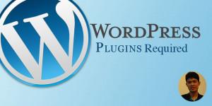 plugin wordpress required