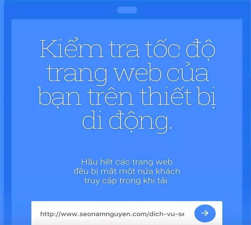 chúng tôi sẽ thử nghiệm cho page dịch vụ SEO