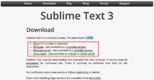 sublime text 3 download
