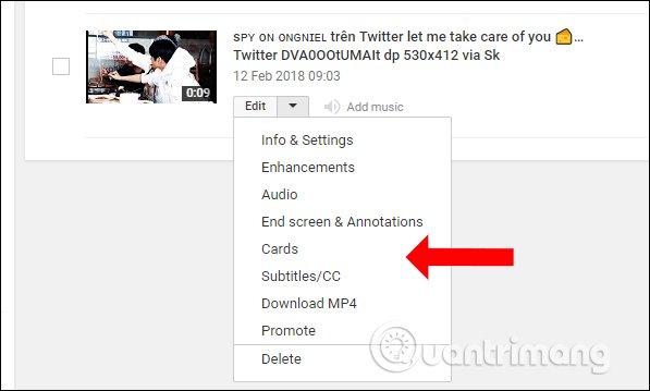 cach upload video len Youtube edit